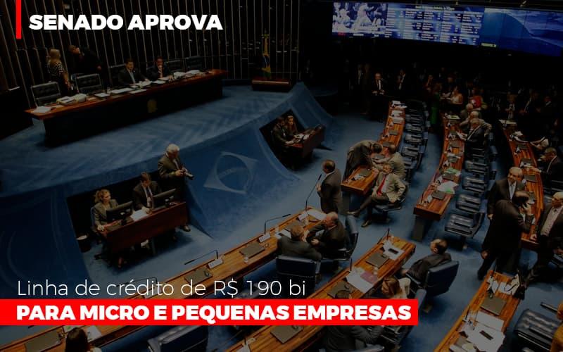 Senado Aprova Linha De Crédito De R190 Bi Para Micro E Pequenas Empresas - Contabilidade Em Florianópolis - SC | Audicor Auditoria E Contabilidade