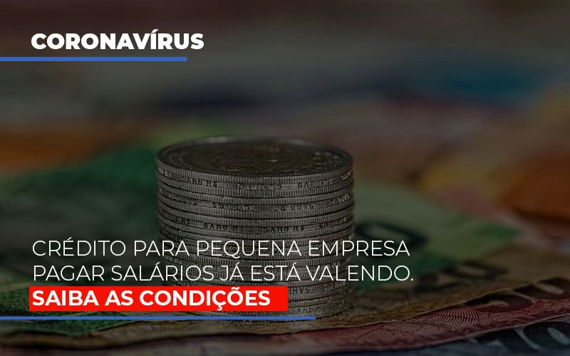 Credito Para Pequena Empresa Pagar Salarios Ja Esta Valendo - Contabilidade Em Florianópolis - SC | Audicor Auditoria E Contabilidade
