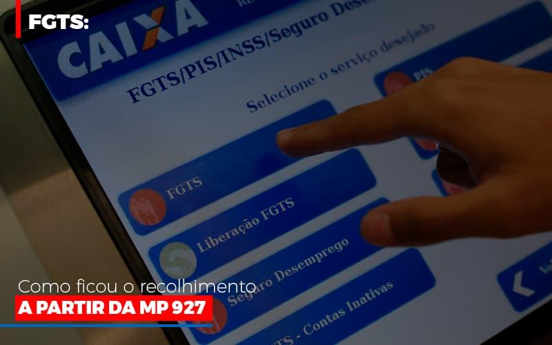 Fgts Como Ficou O Recolhimento A Partir Da Mp 927 (1) - Contabilidade Em Florianópolis - SC | Audicor Auditoria E Contabilidade