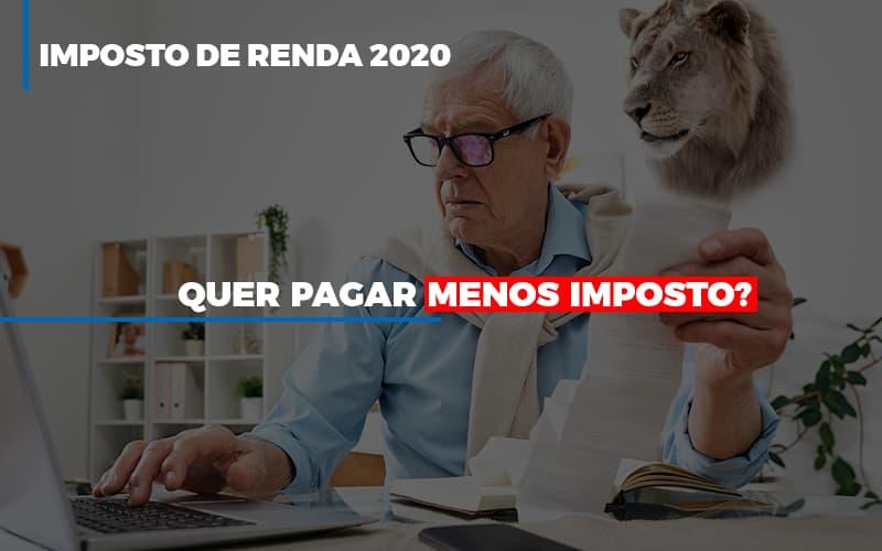 Imposto De Renda 2020 - Contabilidade Em Florianópolis - SC | Audicor Auditoria E Contabilidade
